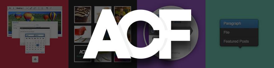 Logo de ACF Advanced Custom Fields