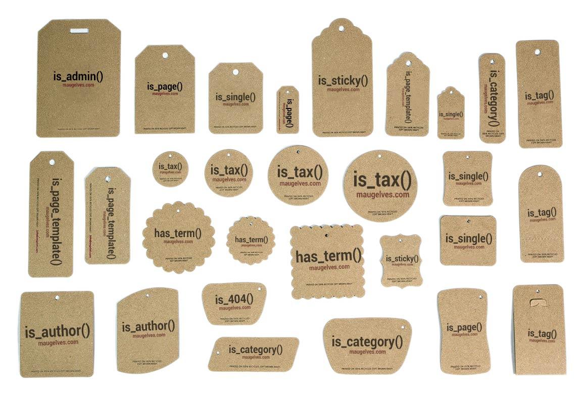 etiquetas condicionales wordpress