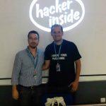 Ramón Salado y Juan José Domenech en WordCamp Sevilla 2016
