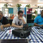 Fernando Tellado, Ibon Askoitia y Jorge Rivera aportando a WordPress.org