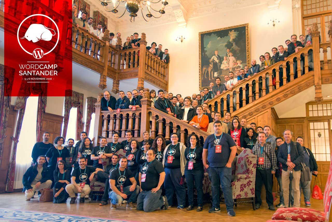 wordcamp santander 2016 foto grupal