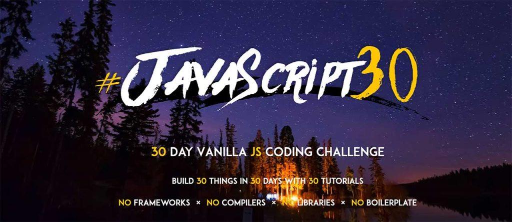 javascript 30 challenge