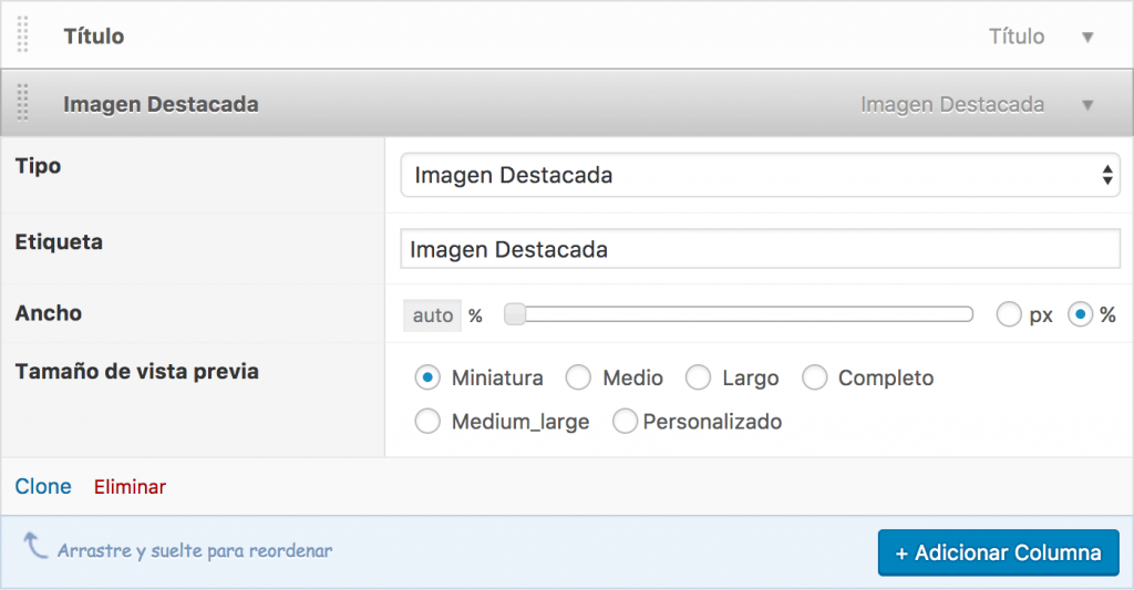 admin columns wordpress plugin configuracion de columna