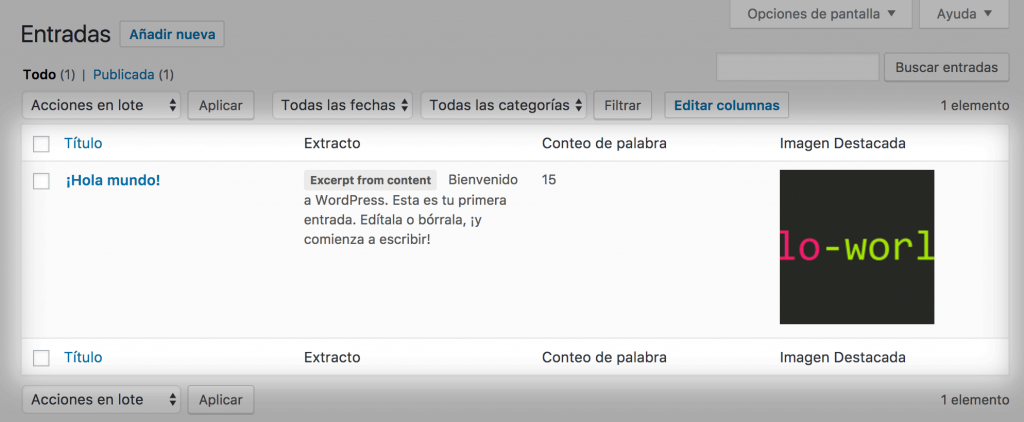 admin columns wordpress plugin listado final