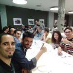 Cena de ponentes WordCamp Bilbao 2016