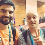 Mauricio Gelves y Álvaro Gomez en la WordCamp Sevilla 2016