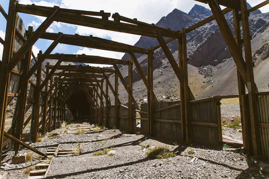 tuneles de tren las cuevas mendoza