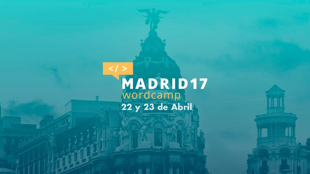 WordCamp Madrid 2017
