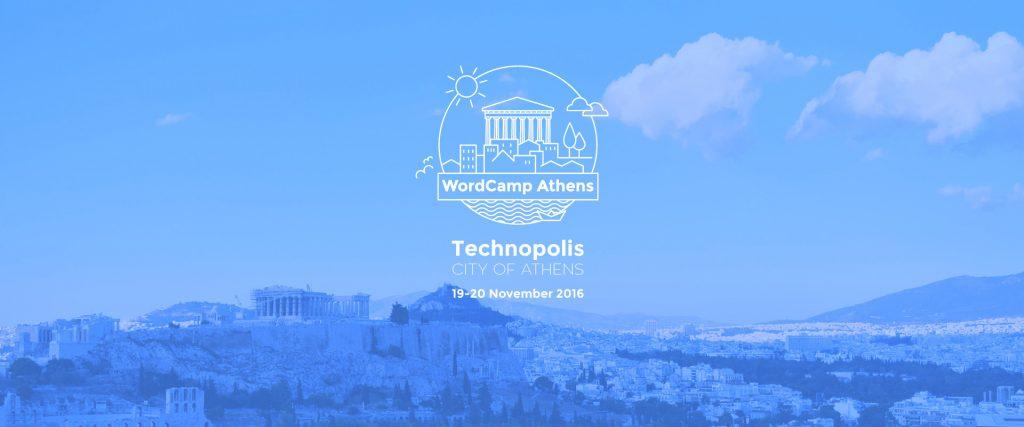 WordCamp Athens 2016 logo