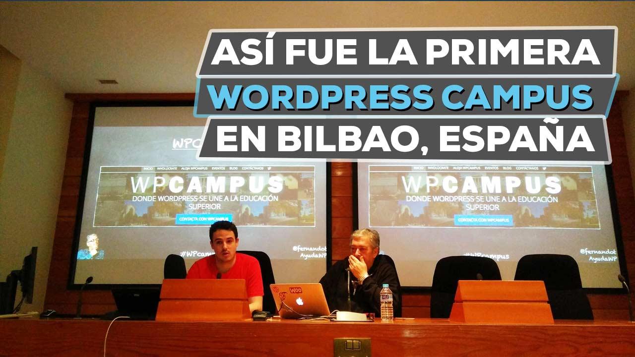 wordpress campus bilbao 2017