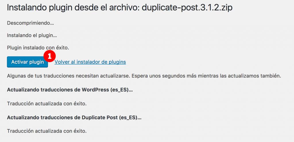 wordpress instalar plugin manualmente final