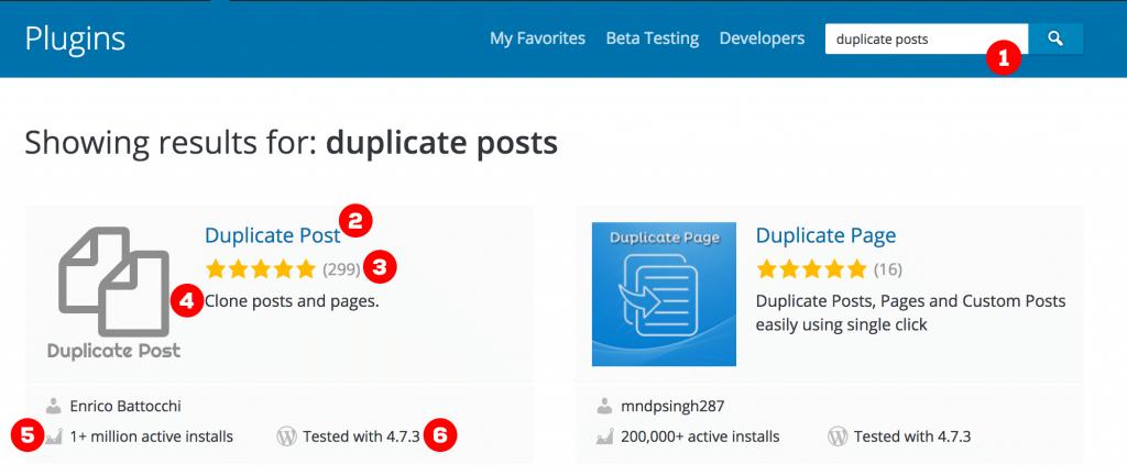 wordpress plugins busqueda resultados