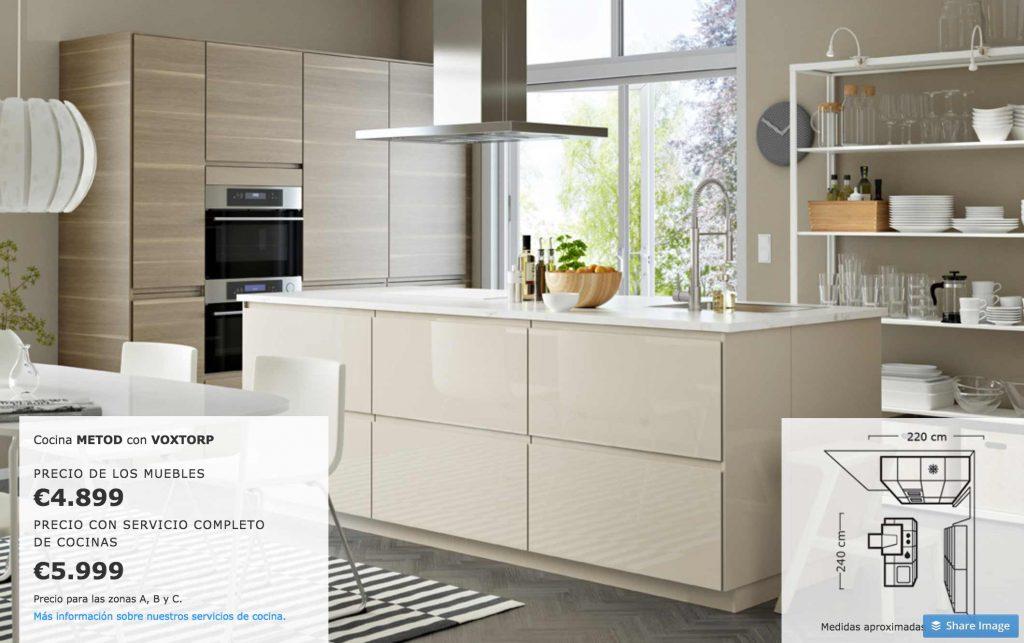 Ikea muebles de cocina precios ideas de disenos for Precio muebles cocina completa