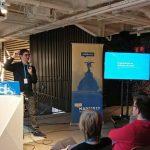Darío Balbontín en la WordCamp Madrid 2017