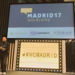José Ramón Padrón en la WordCamp Madrid 2017