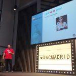 Pablo López en la WordCamp Madrid 2017