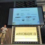 Silvia Suria en la WordCamp Madrid 2017