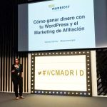 Vanesa Gómez en la WordCamp Madrid 2017