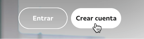 Click en crear cuenta en PayPal