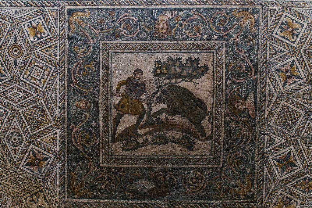 mosaico museo naciona arte romano merida