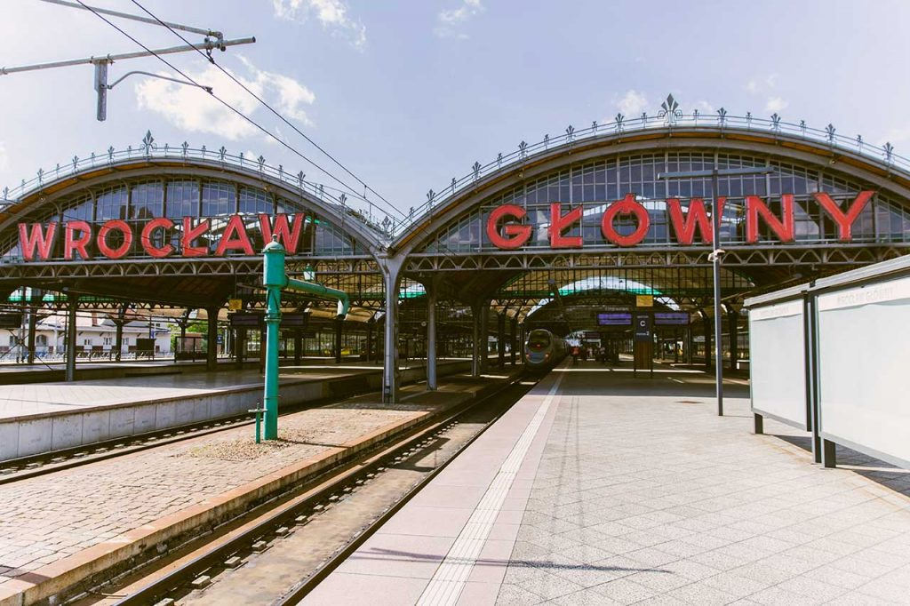 estacion tren breslavia polonia