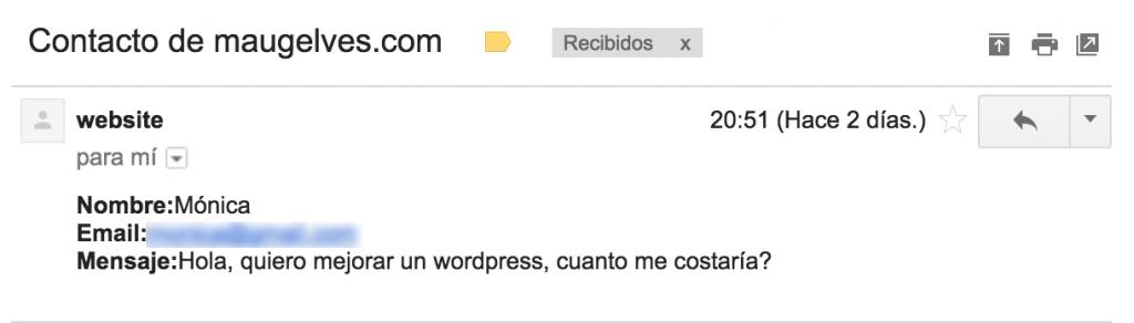 Hola, quiero mejorar un wordpress, cuanto me costaría?