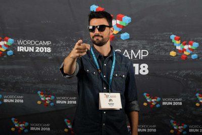 mauricio gelves photocall wordcamp irun 2018